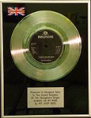 "PET SHIOP BOYS - 7"" Platinum Disc - ALWAYS ON MY MIND"